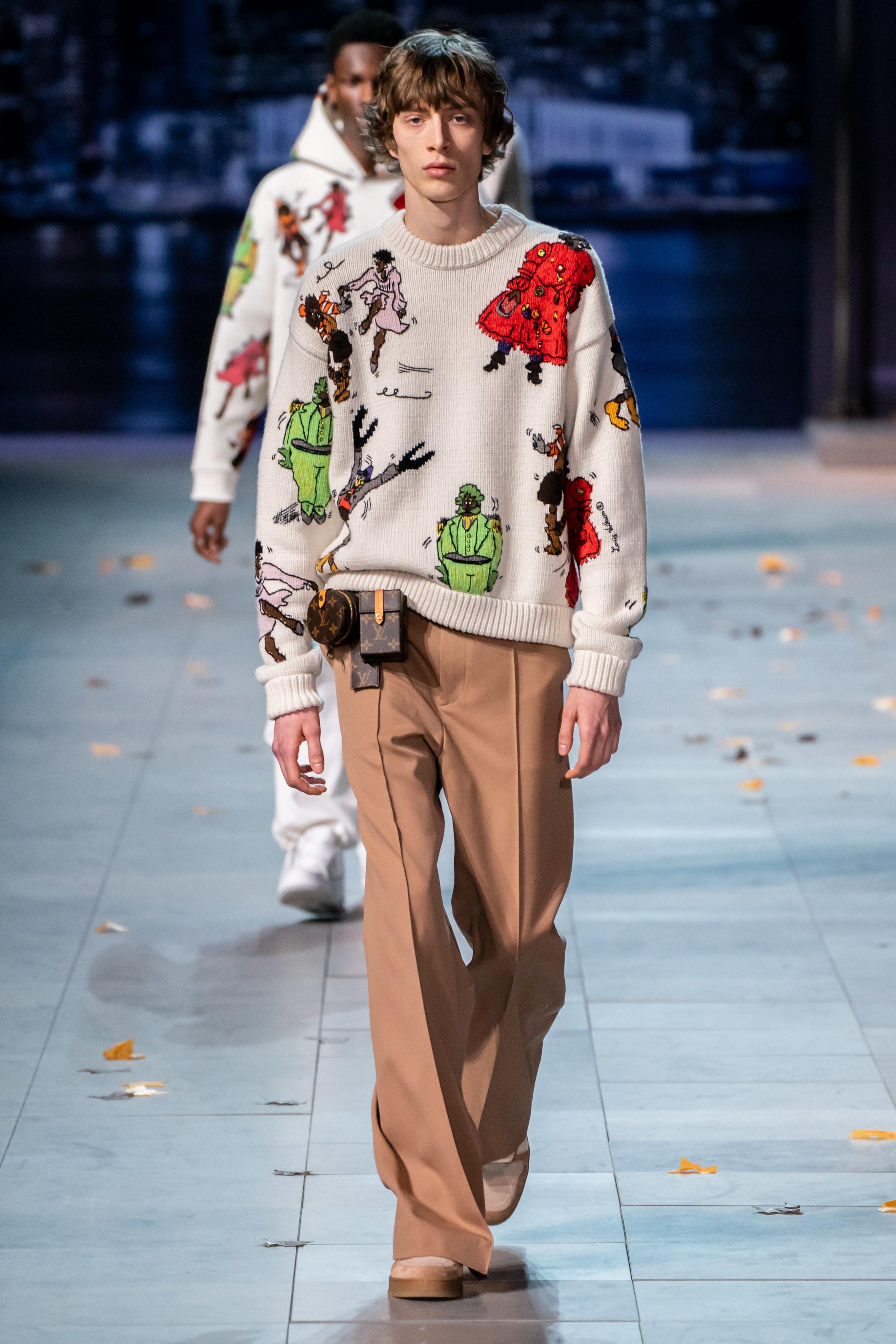 06e1f01cba9dd صيحات الموضة لشتاء 2019 للرجال في أسبوع الموضة الباريسي - Lebanon News