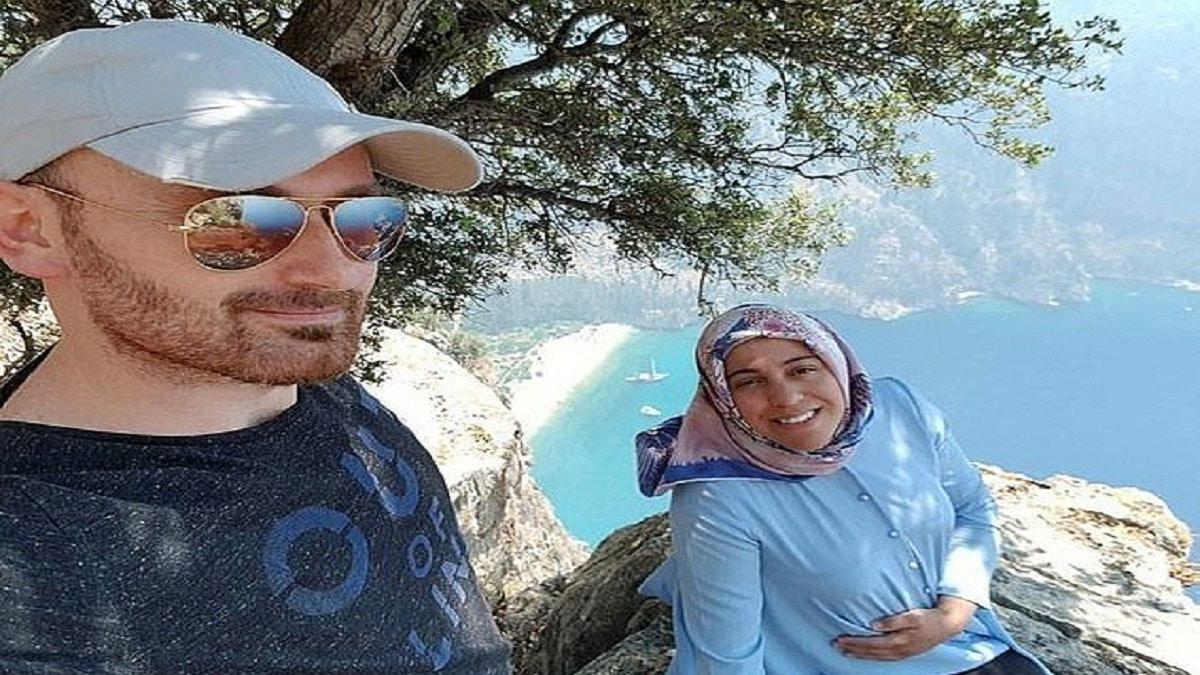 رجل يلقي بزوجته الحامل من أعلى جبل في تركيا