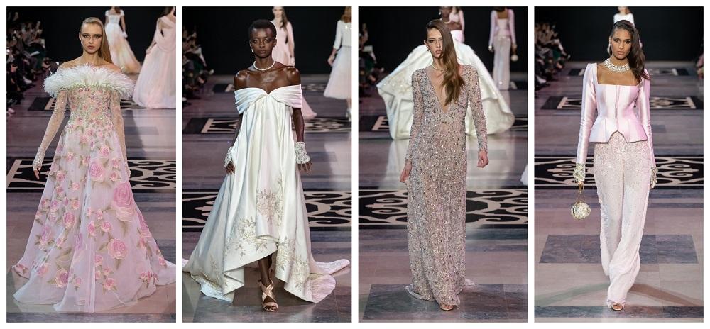 1867da0906794 امرأة جورج حبيقة ارتدت حلّتها الملكية... مجموعة ربيع 2019 للخياطة ...