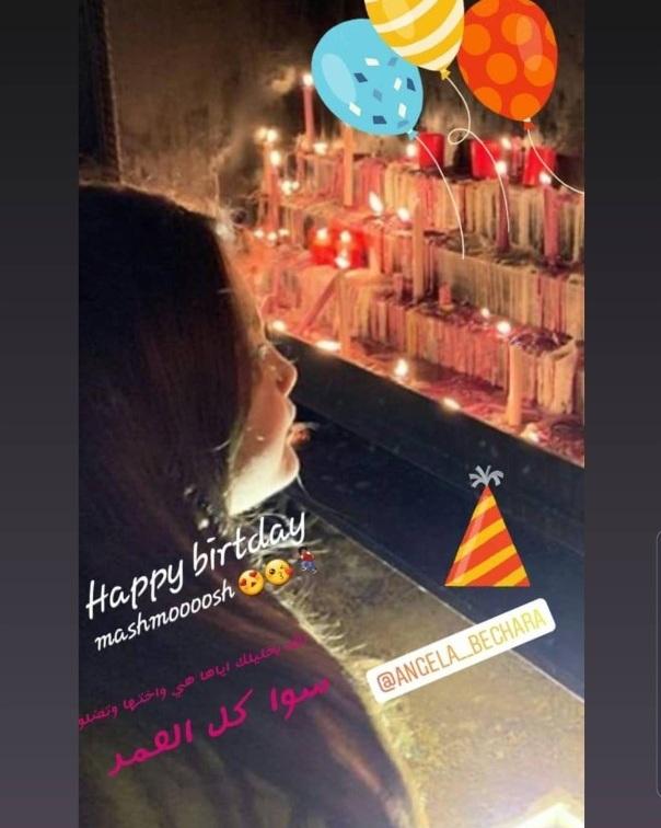 إبنة وائل كفوري كأميرات ديزني في عيد ميلادها (صور)