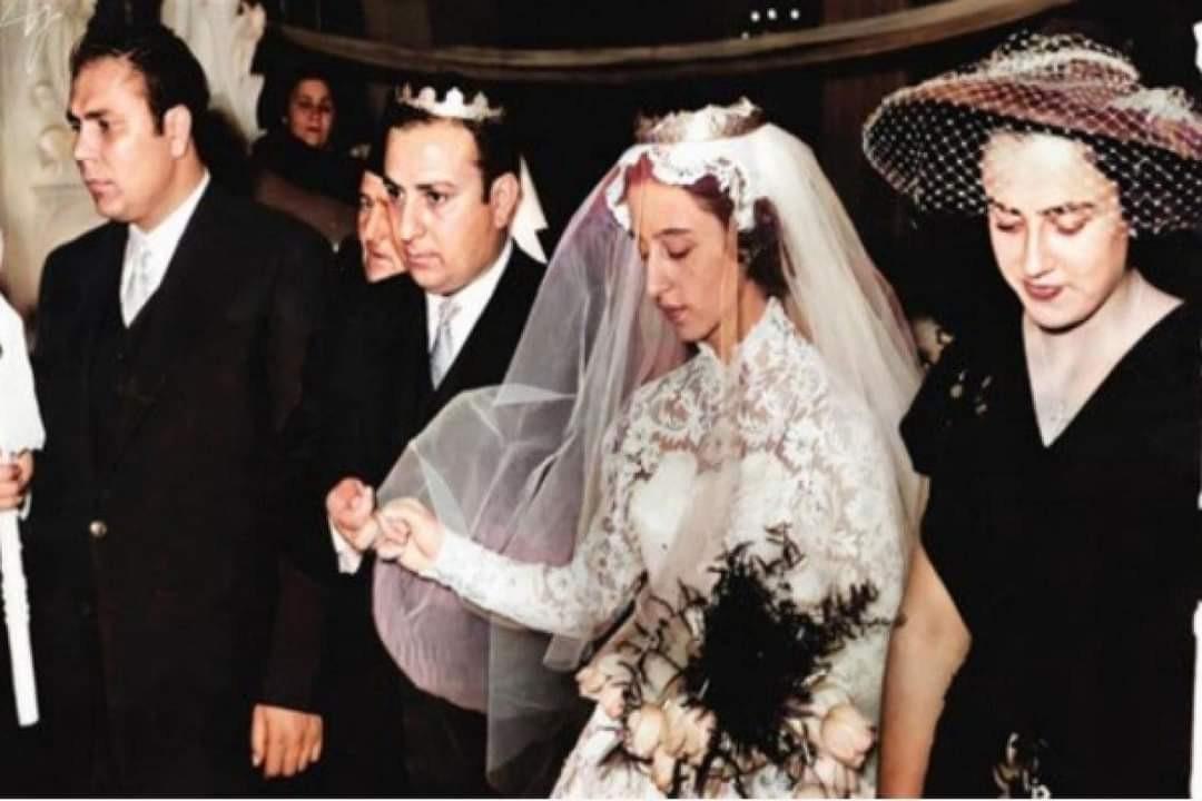 السيدة فيروز بفستان زفافها.. هل شاهدتم هذه الصورة النادرة سابقاً؟