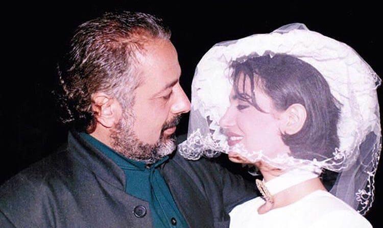 صورة زفاف نورمان أسعد وأيمن زيدان تنشر للمرّة الأولى منذ 19 عامًا.. ومطالبات بحذفها!