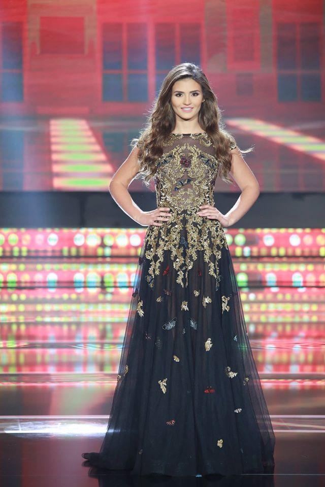 e9d55783cf2e1 بالصور  فساتين زهير مراد زينت مشتركات ملكة جمال لبنان - Lebanon News