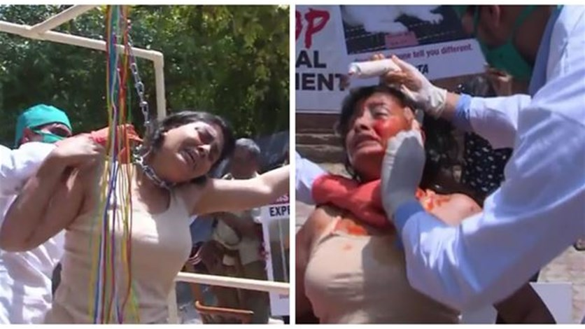 بالصور سيدة هندية يجري تعذيبها الشارع امام اعين المارة 2018 تفاصيل تعذيب سيدة هندية الشارع 2018