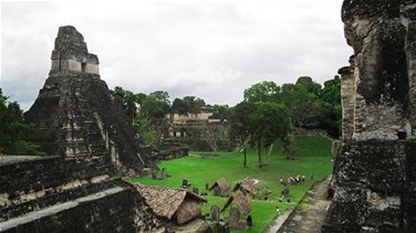 Two ancient Mayan cities...