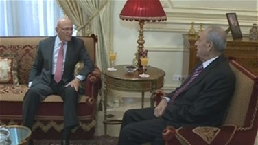 REPORT: PM Salam meets Speaker Berri in Ain el-Tineh