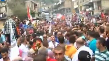 REPORT: Hundreds gather to welcome freed Lebanese troops