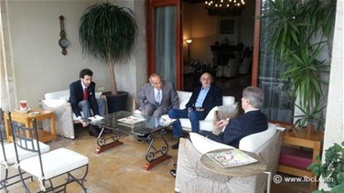REPORT: Jumblatt from Bekfaya: Cooperation with Gemayel aims at protecting institutions