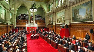 Canadian parliament locked...