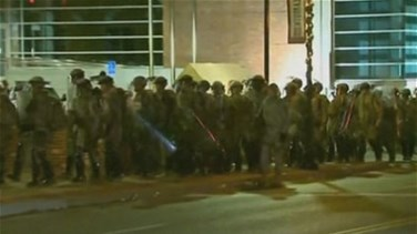 REPORT: Police say 61 arrested in rioting around Ferguson, Missouri