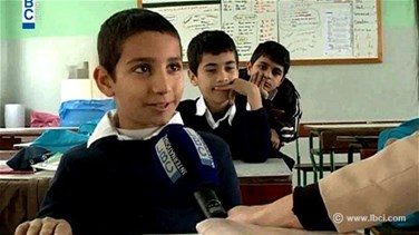 REPORT: EU Commissioner visits Lebanese schools receiving Syrian children
