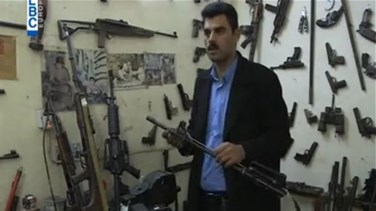 REPORT: Islamic State threat boosts business for Kurdish gunsmith