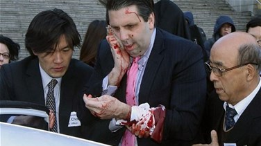 REPORT: Knife-wielding attacker slashes face of US ambassador in South Korea