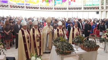 REPORT: Lebanon's Christians attend Palm Sunday Mass