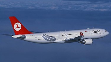 Turkish Airlines flight...