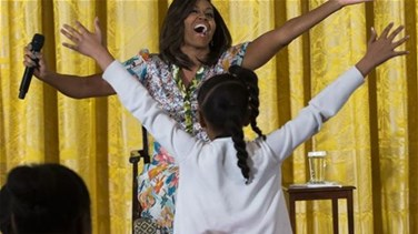 [VIDEO] Little Girl To Michelle Obama: You Look Too Young!