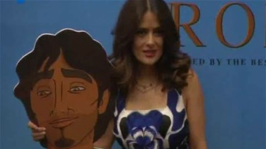 "REPORT: Salma Hayek launches the animated feature film ""The Prophet"""