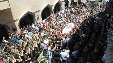 REPORT: Lebanon bids farewell to slain LAF officer Kahil