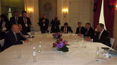 PM Salam meets with Russia's Lavrov in Munich
