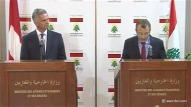 Bassil meets Swiss Foreign Affairs Minister in Beirut