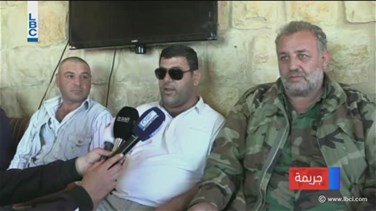 REPORT: Father of martyred Hamieh appears in son's military costume