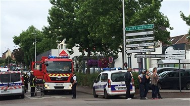 Two attackers neutralised, one hostage killed in France church attack