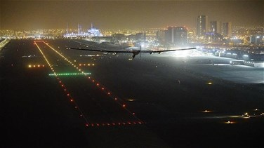 [PHOTOS] Historic solar flight marks first round-the-world journey