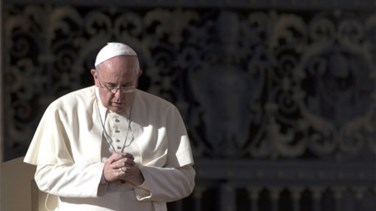 Pope says attacks shows world is at war, religion not to blame