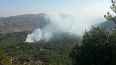 [PHOTOS] Massive fire in Jezzine rages out of control