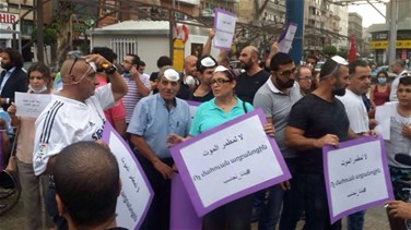 Bourj Hammoud, north Metn residents march against landfill
