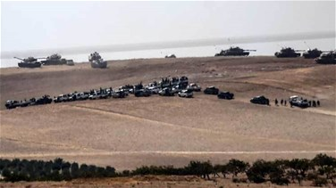 REPORT: Turkey increases fire power at border with Syrian Jarablus
