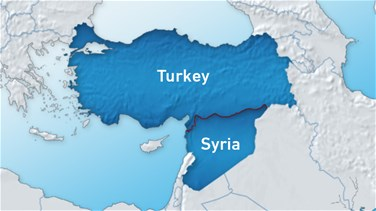 Syrian group says Turkey targets village in air strikes