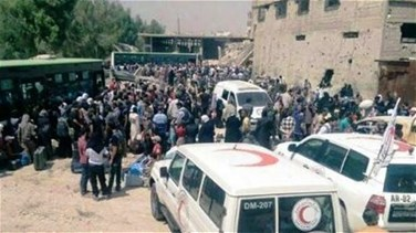 REPORT: Daraya residents leave besieged area