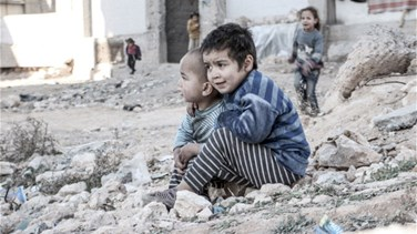 Children of Syrias Aleppo bear brunt of violent onslaught