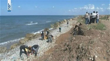 REPORT: Garbage pollutes north Lebanon coast