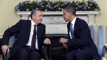 Obama speaks with Turkeys president about ISIL fight