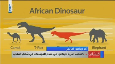 Lebanon News - REPORT: 'Last African dinosaur' discovered in Moroccan mine