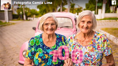 Lebanon News - [PHOTOS] 100-Year-Old Twins Celebrate Birthday With Inspiring Photoshoot