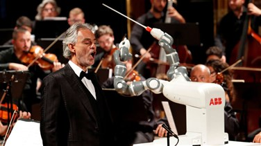 Lebanon News - VIDEO - Robot Replaces Orchestra Conductor At Italy Opera
