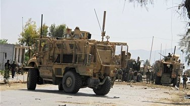 Lebanon News - Car bomber hits NATO convoy in Afghanistan, wounds five civilians