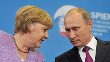 Lebanon News - Putin, Merkel hold phone call after German polls - Kremlin
