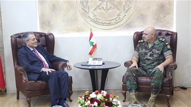 Lebanon News - LAF commander meets with Syrian ambassador