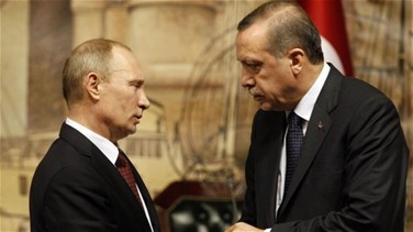 Lebanon News - Kremlin says Putin, Erdogan discuss Syria in phone call