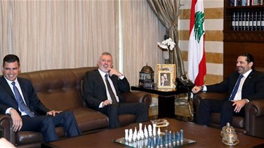 Lebanon News - PM Hariri meets with MP Frangieh in Bayt Al-Wasat