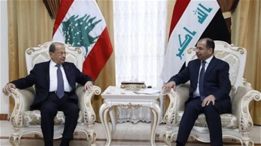 Lebanon News - President Aoun meets with al-Jabouri and Allawi in Baghdad, stresses unity of Arab position