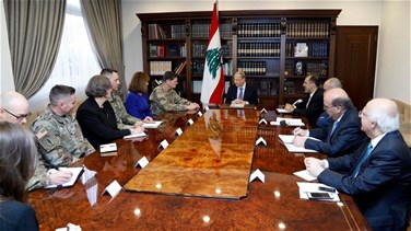 Lebanon News - Aoun to Votel: Lebanon will not accept any attack on its territories