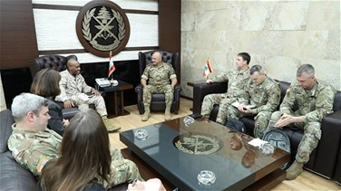 Lebanon News - LAF commander receives US military delegation