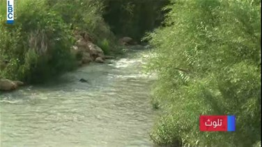 Lebanon News - Litani River pollution: Water turns black or green