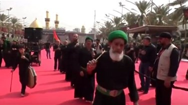 Lebanon News - Millions of Shi'ites express suffering in Ashura ritual in Iraq