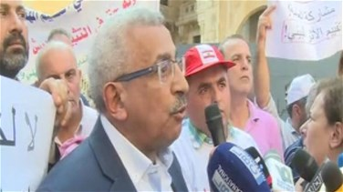 Lebanon News - Protest staged against solid waste management law